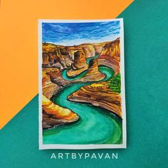 """@art_by_pavan posted on their Instagram profile: """"Gouache Art : The Lake 🏞️ 🎨Art collab with very talented @ankuritas_art , We decided on painting…"""" Lake Art, St G, Insta Posts, Gouache, Profile, Artwork, Painting, Instagram, Idea Paint"""