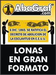 Lonas impresas en Monterrey. www.AbaGraf.com