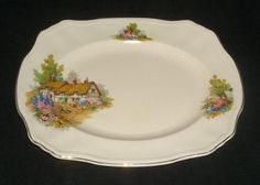 COTTAGE ALFRED MEAKIN CHINA 14 1/4