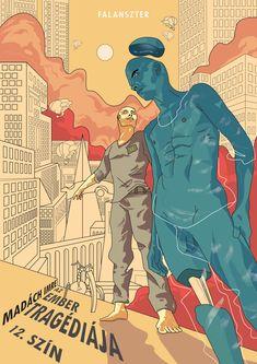 Straff David on Behance Man, Comic Books, Behance, Comics, Cover, Design, Cartoons, Cartoons