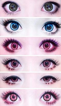 Circle Lens Cosmetic Big Eye Colored Contacts Lenses from EyeCandy's (http://www.eyecandys.com/)