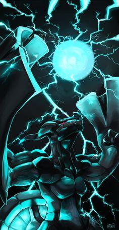 Fusion Bolt by rajewel.deviantart.com on @deviantART (Zekrom)