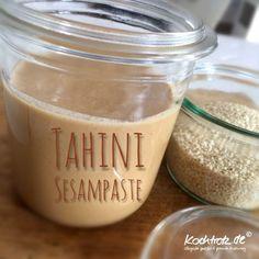 Tahini – Sesampaste selbstgemacht für klassische Mixer und auch Thermomix   kochtrotz - Rezepte für Gluten-Unverträglichkeit, Fructose-Intoleranz, Laktose-Intoleranz, Histamin-Intoleranz, Zöliakie, Sorbit-Intoleranz, jetzt auch vegan und sojafrei