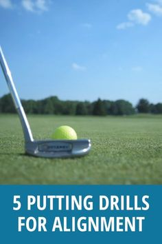 These golf putting tips will get you started on the right track. If you aren't aligned properly then you never have a chance to make the putt. Try these 5 drills and see the improvement. Find the best golf push cart for your golfing game Golf Gti 1995, Mk1, Short Game Golf, Golf Tips Driving, Volkswagen, Golf Putting Tips, Golf Putting Green, Golf Practice, Golf Videos