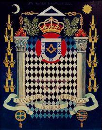 Great Regular Lodge of Portugal coat of arms