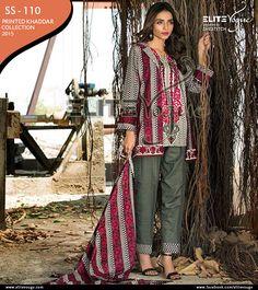 Khaddar #PrintedCollection 2015  Price:PKR: 1500 / USD: $15 ☛{0322-3504542}  #onlineshopping #womensfashion #Stylish