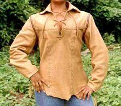 Great deerskin shirt
