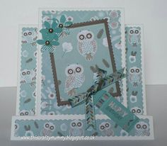 Owl Folk Crafts To Do, Paper Crafts, Stepper Cards, Owl Card, Folk, Cardmaking, Card Ideas, Projects, How To Make
