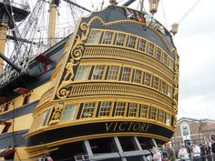 HMS Victory - Portsmouth, England - SEEN IT