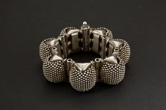 Rajasthan, Northwest India | Silver bracelet from the First half 1900s