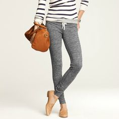 Skinny sweatpants. I'd wear these every day.