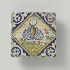 Tegel, anoniem, 1580 - 1625
