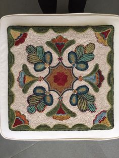 I think this is a new design from Susan Quicksall, Holly Hill Designs
