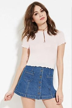 Butterfly-Sleeve Top   Forever 21 - 2000150748