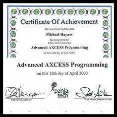 This Started Everything   www.michaelhaynes.me  #ThrowbackThursday #throwback #Panja #ISE16 #Video #NYC #ISE2016  #certification #course #CodeCreativeXL #ProAV #News #AV #Manufacturing #AVnews #technology #newyorkcity #architecture #AVTweetup #friends #AvPros #AVnews #AMXtalk #Crestron #Happy #Technology #Tech #AMXtalk