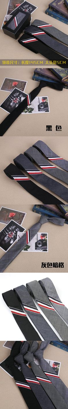 2017 New Solid 5cm Width Slim Ties for Men Tuxedo Unique Men Linen Brand Student Uniform Wedding Party Striped UK Style Necktie