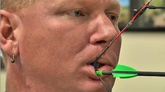 Disabled archer headed to Olympics. He uses teeth to win medals and heal wounded soldiers. Click the photo above to read the article.