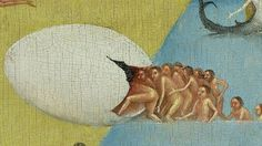 Hieronymus Bosch - detail from The Garden of Earthly Delights
