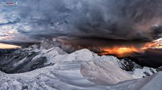 Beautiful Landscape photography : The end of the word is coming