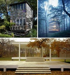 Glittering Greenhouses and Glass Houses: Many of us value our privacy and make it a priority when seeking out the perfect house – but some people do the opposite. Ranging from glass shacks to beautiful greenhouses here are some great examples of extremely extroverted designs revolving around openness, transparency and visual clarity.