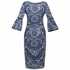 Katinka Dress boho blue