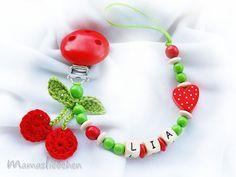 Pacifier holder Dummy clip personalized от HoldersRattlesnmore, $15.90