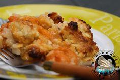 Crumble abricots amandes