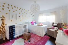 Boho Girls Nursery w