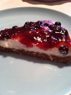 Cheesecake - ricetta in zona da 8 blocchi [Dieta zona]
