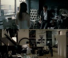 Thomas's apartment from Black Swan takes black and white chic to a whole other level