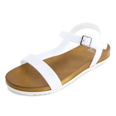 d8a4e959e44 Kali Womens Open Toe Gladiator Gold Strap Flat Sandals (Adults)   Discover  this special product