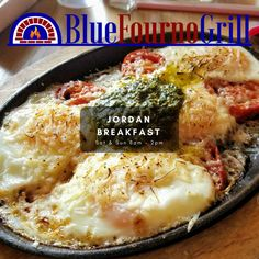 Come on in for breakfast and brunch this weekend! #bluefournogrill #sandiego #food #Mediterranean #breakfast #brunch #lunch #dinner #healthy #local #fresh #orderonline