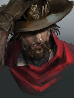 Overwatch, McCree