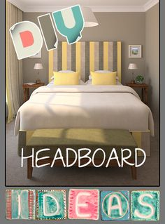 10 Creative and Cheap Headboard Ideas