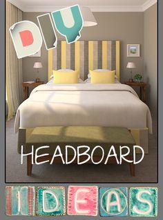 10 Creative and Cheap Headboard Ideas