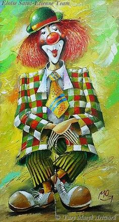 Clown ~ by Yury Macyk