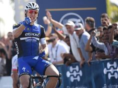 Marcel Kittel wins the opening stage of the Dubai Tour