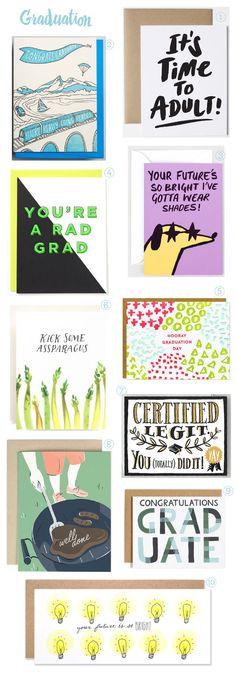 Stationery A-Z: More Graduation Cards