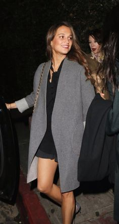 Alicia Vikander Daily — Alicia was seen leaving Chateau Marmont Hotel last...