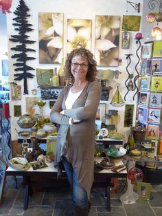 The lovely Lisa, owner of Ah Some Art, has great taste and brings in fabulous items to her store.
