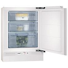 Buy AEG AGN58210F0 Integrated Freezer, A+ Energy Rating, 60cm Wide Online at johnlewis.com