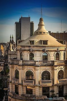 Cúpula Ediicio Bencich y Estudios Caracol - 48hs OPEN HOUSE BUENOS AIRES 2014 © Edi Libedinsky