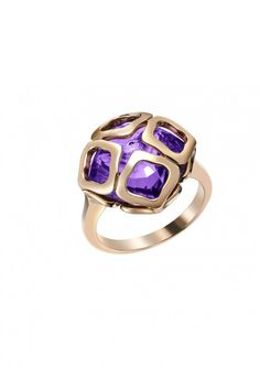 Chopard - IMPERIALE Ring 18-karat rose gold and amethyst