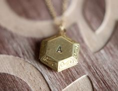Christmas SALE Personalized Locket Necklace by JewelleryJKW