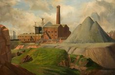 Art UK is the online home for every public collection in the UK. Featuring over oil paintings by some artists. Coal Mining, Art Uk, Realism Art, View Source, Your Paintings, Art Museum, Landscape, Attic, Industrial