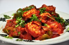 Hilda's Touch of Spice: Goan Stir Fry Prawns