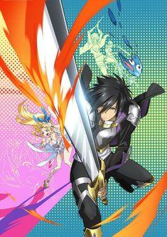 Cautious hero shinchou yuusha poster by lawliet1568 in