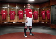 Manchester United Home Kit 2011 - Wayne Rooney.