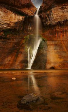 Calf Creek Falls, Utah - By K. Jew