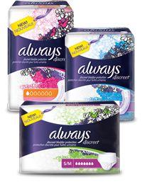 FREE Always Discreet Sample http://sendmesamples.com/free-always-discreet-sample-2/